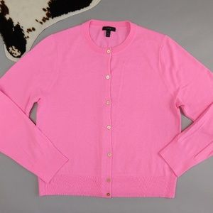 J. Crew Lightweight Wool Jackie Cardigan Sweater